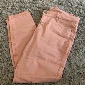 Light Pink Jeans (LOFT)